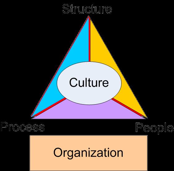 Triangolo organizzazione